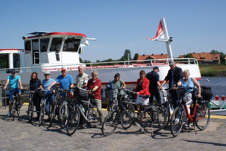 Schifffahrt nach Stolzenau und Radtour von Stolzenau nach Minden